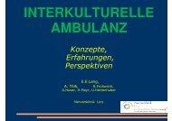 INTERKULTURELLE AMBULANZ - ONGKG
