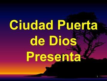 Conociendo al Espíritu Santo 37 III - Ciudad Puerta de Dios