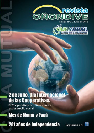 Revista - Caja Mutual de Cooperativistas del Paraguay