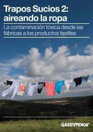 Trapos Sucios 2: aireando la ropa - Greenpeace