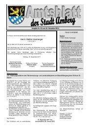 Nr. 23 / 16.12.2011 - Stadt Amberg