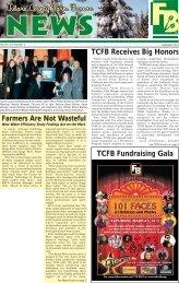 TCFB Honors - Tulare County Farm Bureau