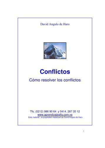 Cómo resolver los conflictos - Super Aprendizaje Alfa