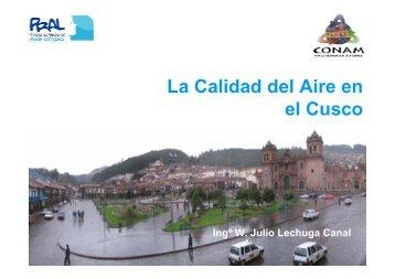 La Calidad del Aire en el Cusco - Swisscontact