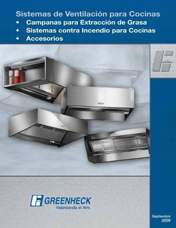 Sistemas de Ventilación para Cocinas - Greenheck