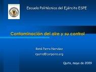 Estudios y aplicaciones de modelización de la calidad del aire en ...
