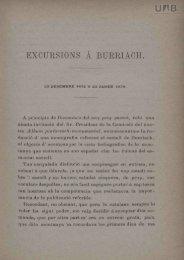 excursions a burriaoh. - Dipòsit Digital de Documents de la UAB