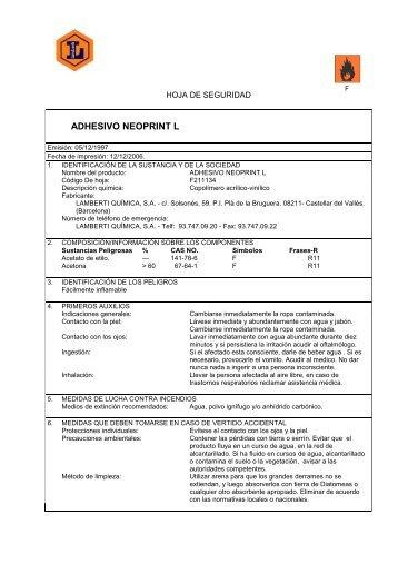 11 informaci n toxicol for Ficha tecnica silestone