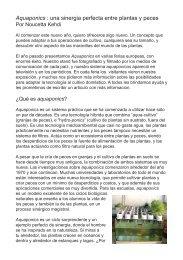 Aquaponics esp web - General Hydroponics Europe