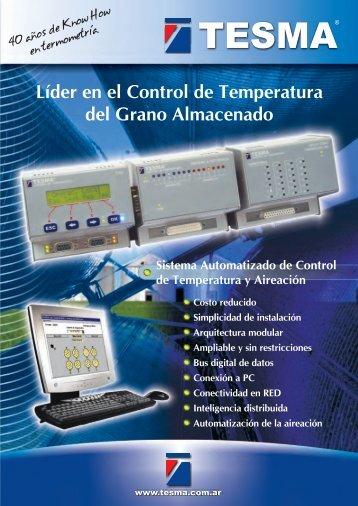 Folleto - Sistema Automatizado de Control de Temperatura y Aireación