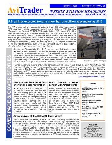 2007-03-19 Newsletter.pub - AviTrader