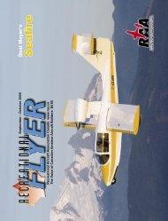 September - October - The Recreational Aircraft Association