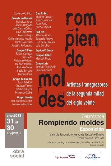 Rompiendo moldes - Caja España