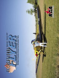 September - October - The Recreational Aircraft Association