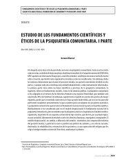 Estudio dE los fundamEntos ciEntíficos y éticos dE la psiquiatría ...