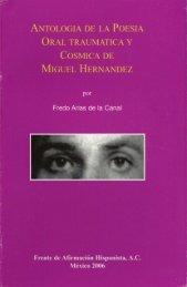 antologia de la poesia oral traumatica y - Frente de Afirmación ...