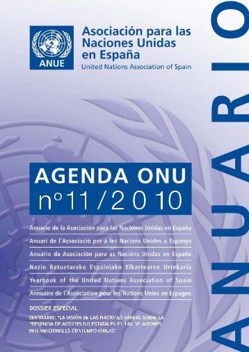 Descargar la Agenda ONU nº11 en pdf - ANUE