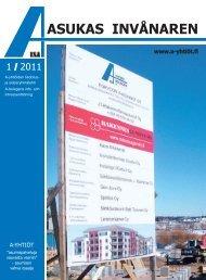 01/2011 - A-yhtiöt