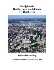 Planbeskrivning pdf, 3 126 kB - Göteborg