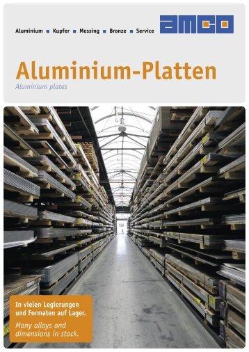 Flyer Alu-Platten - AMCO Metall-Service Gmbh