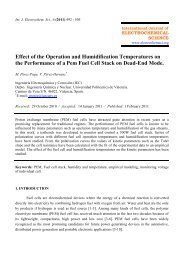 Effect of the Operation and Humidification Temperatures on the ...