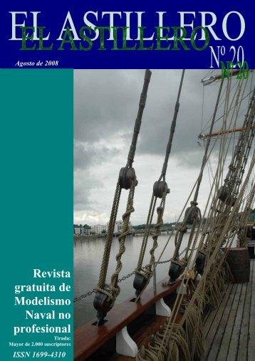 EL ASTILLERO nº 20 - modelismo naval en madera