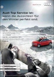 Winter in Sicht. - Autohaus Büchner
