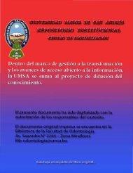 'Ií1ecrrrw ~ - Bibliotecas Digitales - UMSA