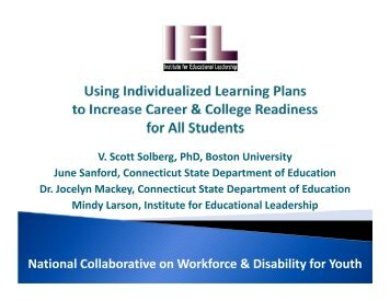 National Collaborative on Workforce & Disability for Youth