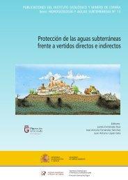 publicación - Hidrogeología y aguas subterráneas - Instituto ...