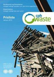 Download prisliste - cphWaste