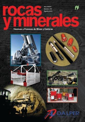 Rocas y Minerales 464 - Fueyo editores