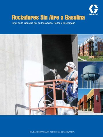Rociadores Sin Aire a Gasolina - Graco Inc.