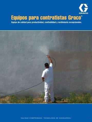 Equipos para contratistas Graco® - Graco Inc.