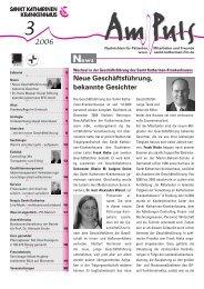 3/2006 - Sankt Katharinen-Krankenhaus