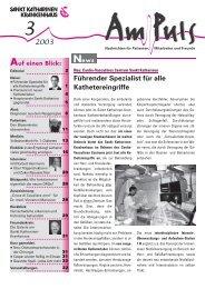 3/2003 - Sankt Katharinen-Krankenhaus