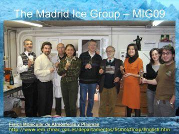 Diapositiva 1 - Instituto de Estructura de la Materia