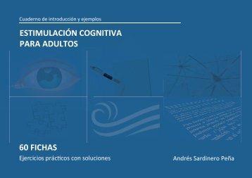 60 fichas estimulación cognitiva para adultos - Talleres Cognitiva