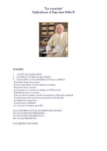 """""""La vocación"""" - Corazones.org"""