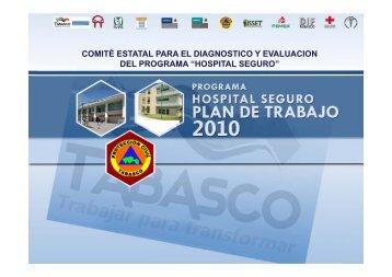 hospital seguro - Dirección General de Protección Civil