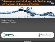 Rete Idrica di Romano d'Ezzelino - DHI Italia