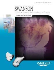 Swanson Carpal Lunate scaphoid 2 ST