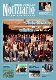 """""""Diciottenne - Comune di Romano d'Ezzelino"""