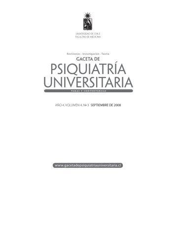 GPU 2008-3.indb - Gaceta de Psiquiatría Universitaria