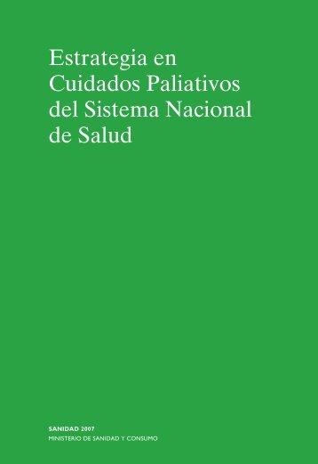 Estrategia Cuidados paliativos - Ministerio de Sanidad y Política ...