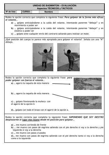 Trucos badminton