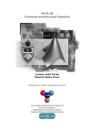 MATLAB Ferramenta matemática para Engenharia - Programa de ...