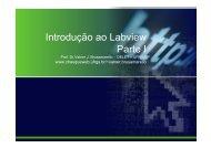 Introdução ao Labview Parte I - chasqueweb - ufrgs