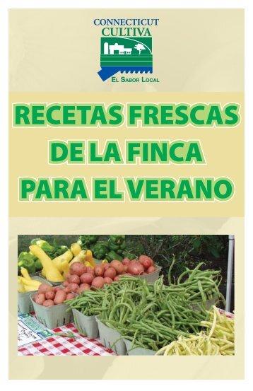 RECETAS FRESCAS DE LA FINCA PARA EL VERANO