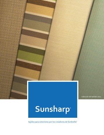 Sunsharp Telas de Colores (2MB Documento PDF) - Glen Raven, Inc